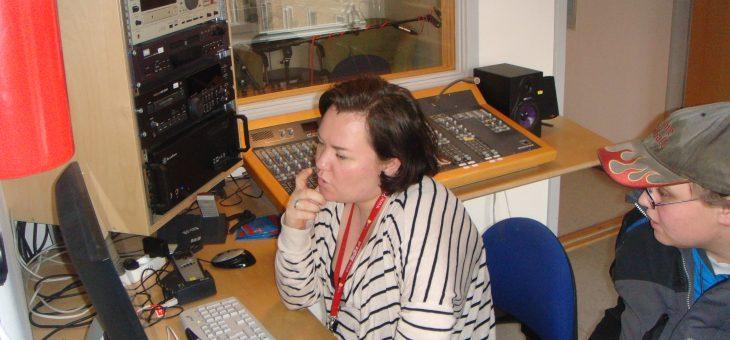 Denne gange vi producerede Radio udsendelser