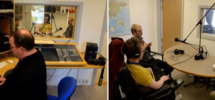 Så er vores podcast-gruppe i gang med første udgave