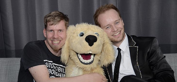 Peter Nørgaard og hunden Charlie