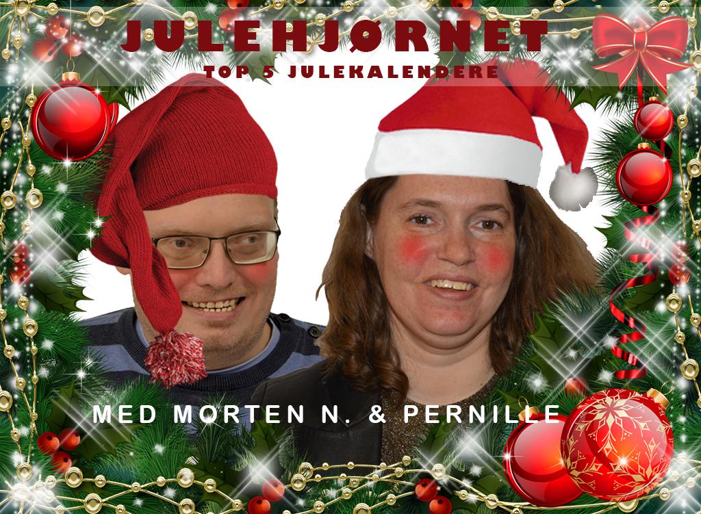 Julehjørnet med Morten og Pernille