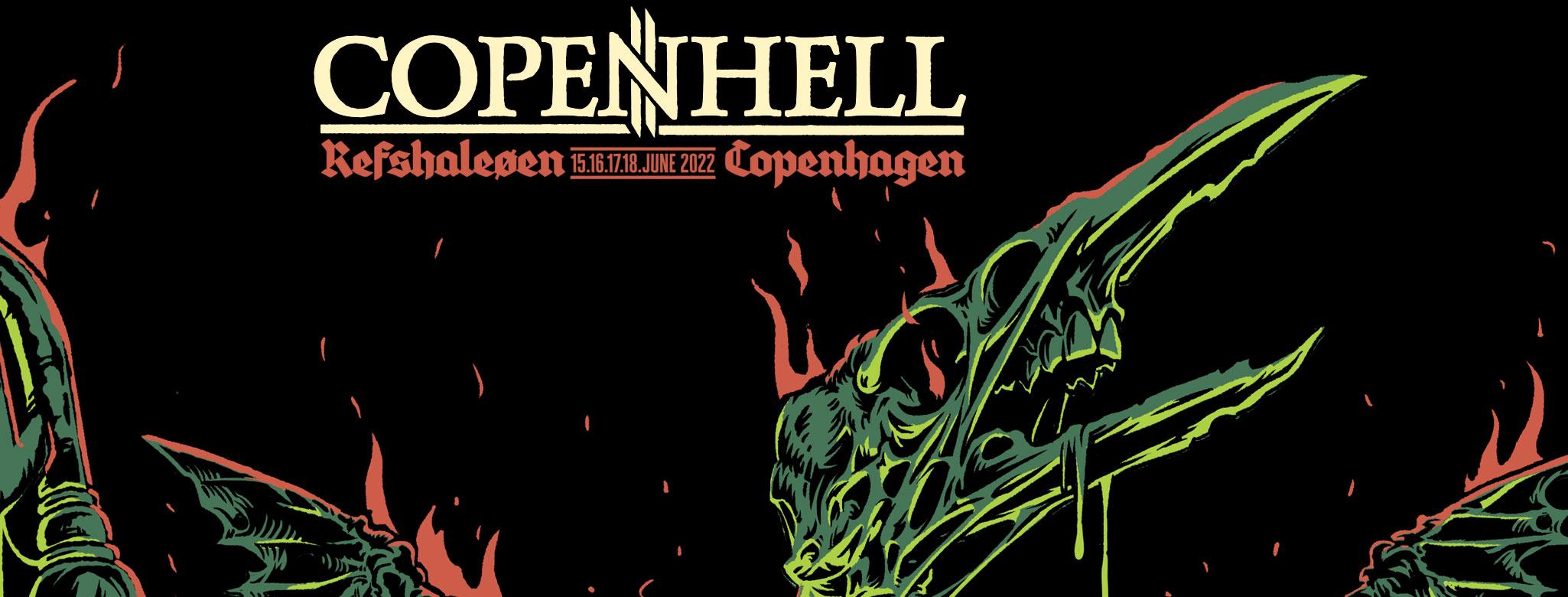 Heavy Hjørnet – Copenhell '22