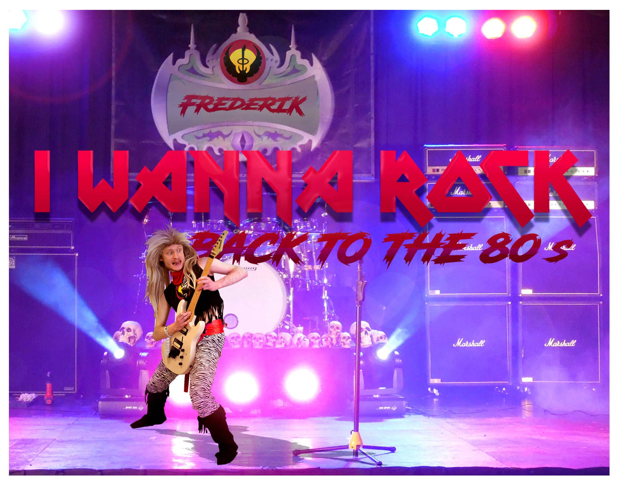 I Wanna Rock – Back to the 80's – afsnit 1